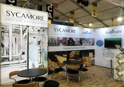 Sycamore show stand